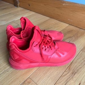 Adidas Tubular Runner Triple Red Shoes